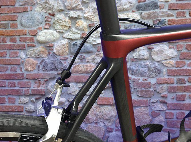 bici corsa carbon fatto a mano