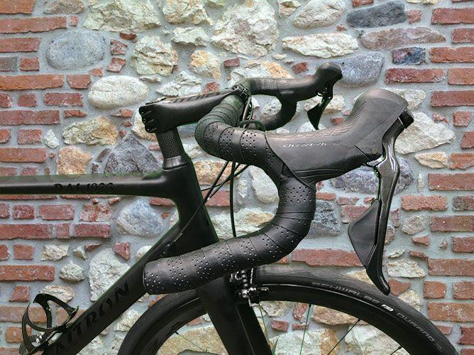 manubrio bici corsa comandi dura-ace